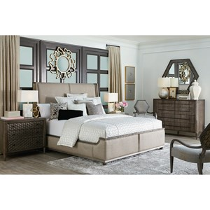 A.R.T. Furniture Inc Geode Queen Bedroom Group