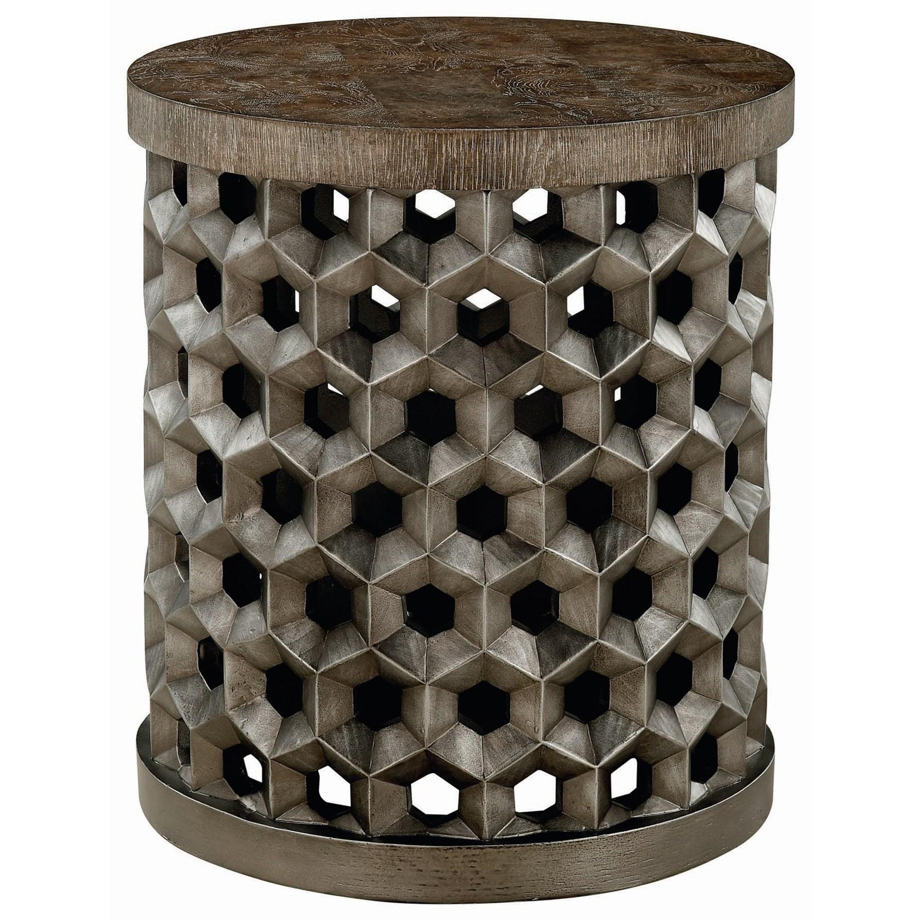 A.R.T. Furniture Inc Geode Tanzanite Drum Table - Item Number: 238305-0027