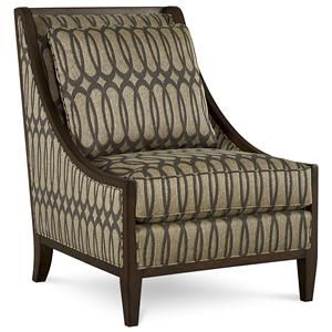 A.R.T. Furniture Inc Intrigue Harper - Mineral Accent Chair
