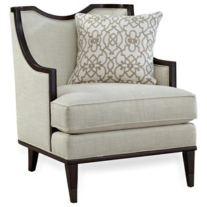 Exceptionnel A.R.T. Furniture Inc Harper   Ivory Chair