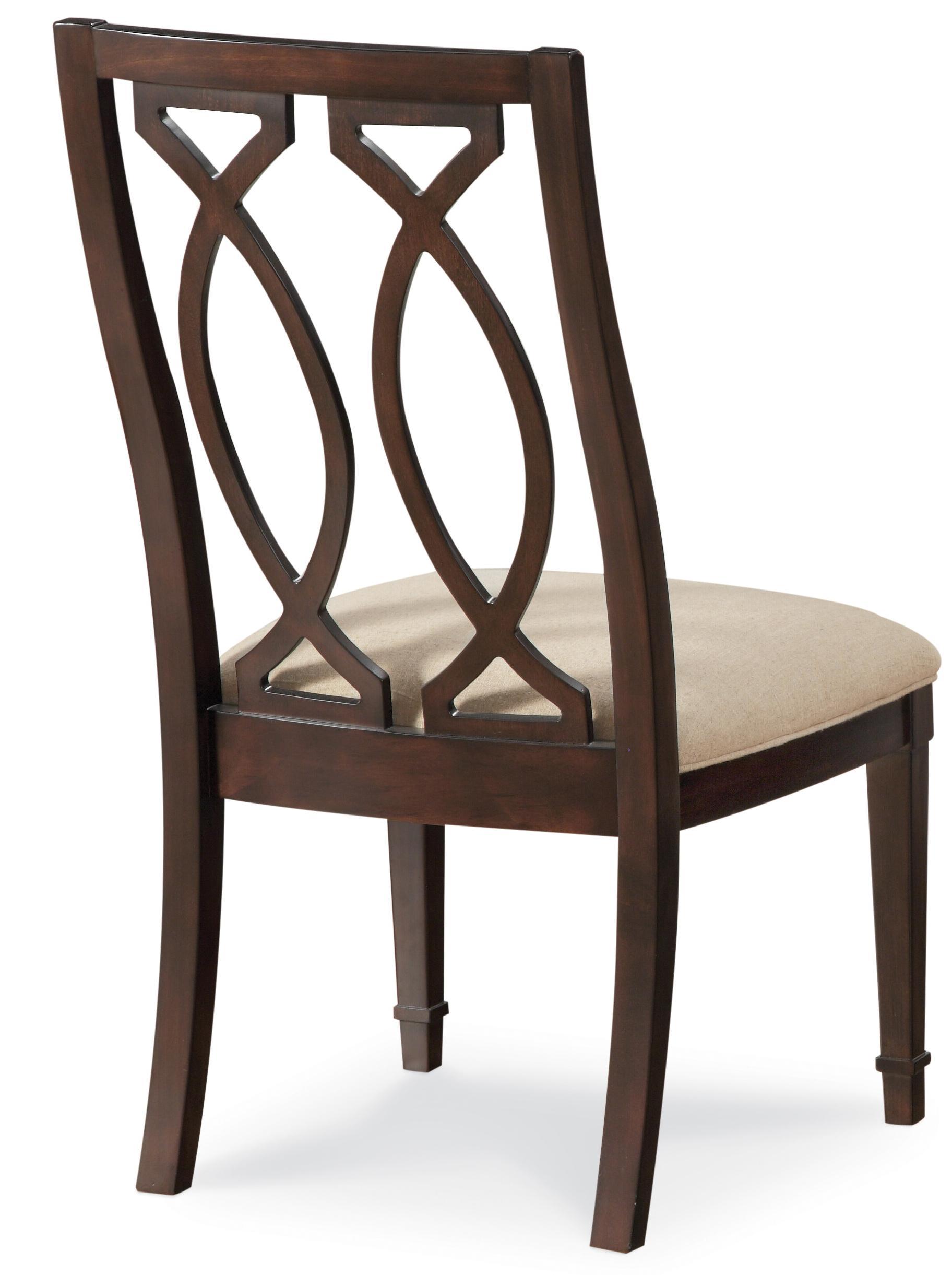 Belfort Signature Bolbrook Wood Back Side Chair - Item Number: 61204-2636