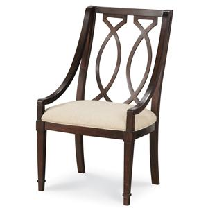 Belfort Signature Bolbrook Wood Back Arm Chair