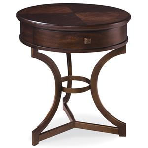 Belfort Signature Bolbrook Round End Table