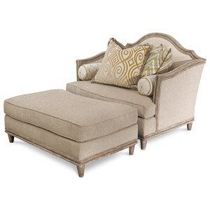 A.R.T. Furniture Inc Monterrey Chair and a Half & Ottoman