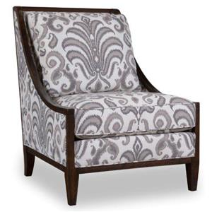 A.R.T. Furniture Inc Morgan Wood Frame Accent Chair