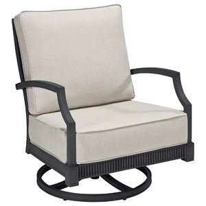 Sullivan Swivel Rocker Club Chair
