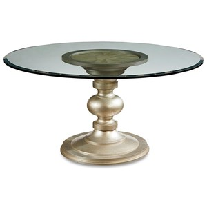 Wallen Round Dining Table w/ 54