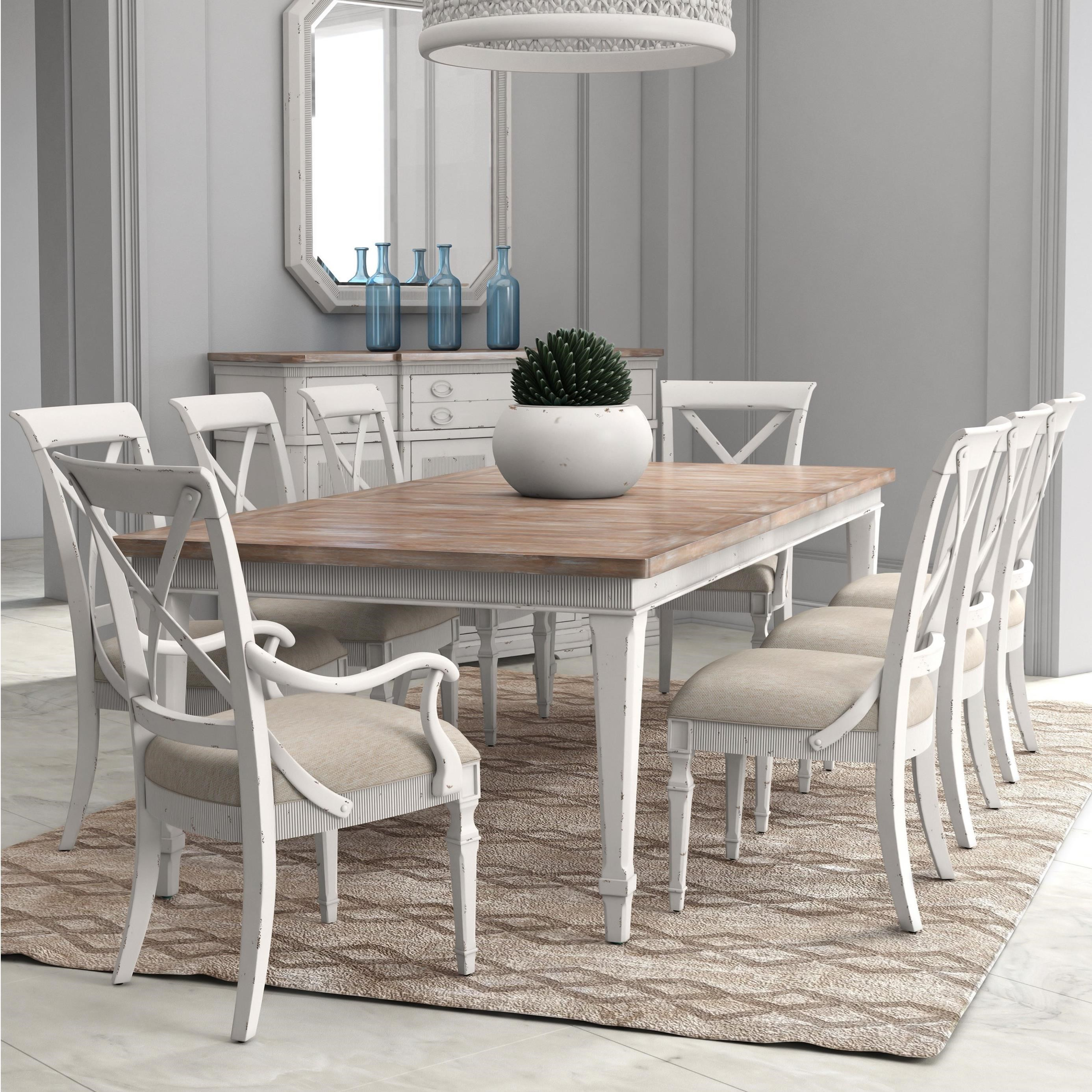 Palisade 9-Piece Dining Table Set by A.R.T. Furniture Inc at Baer's Furniture