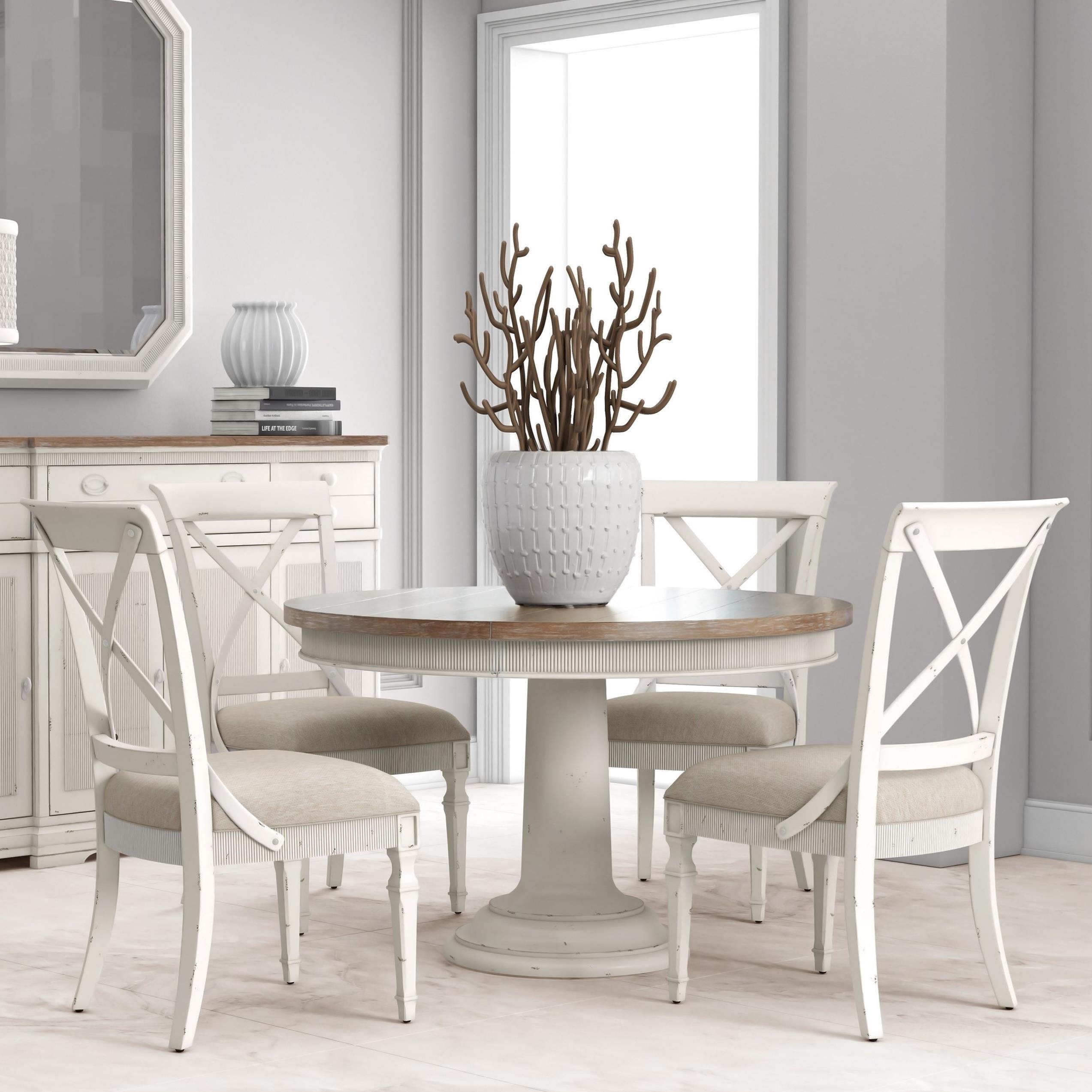 Palisade 9 Piece Round Dining Table Set