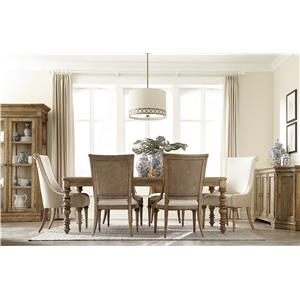 A.R.T. Furniture Inc Pavilion Formal Dining Room Group