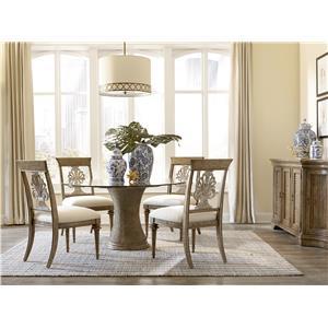 Markor Furniture Pavilion Casual Dining Room Group