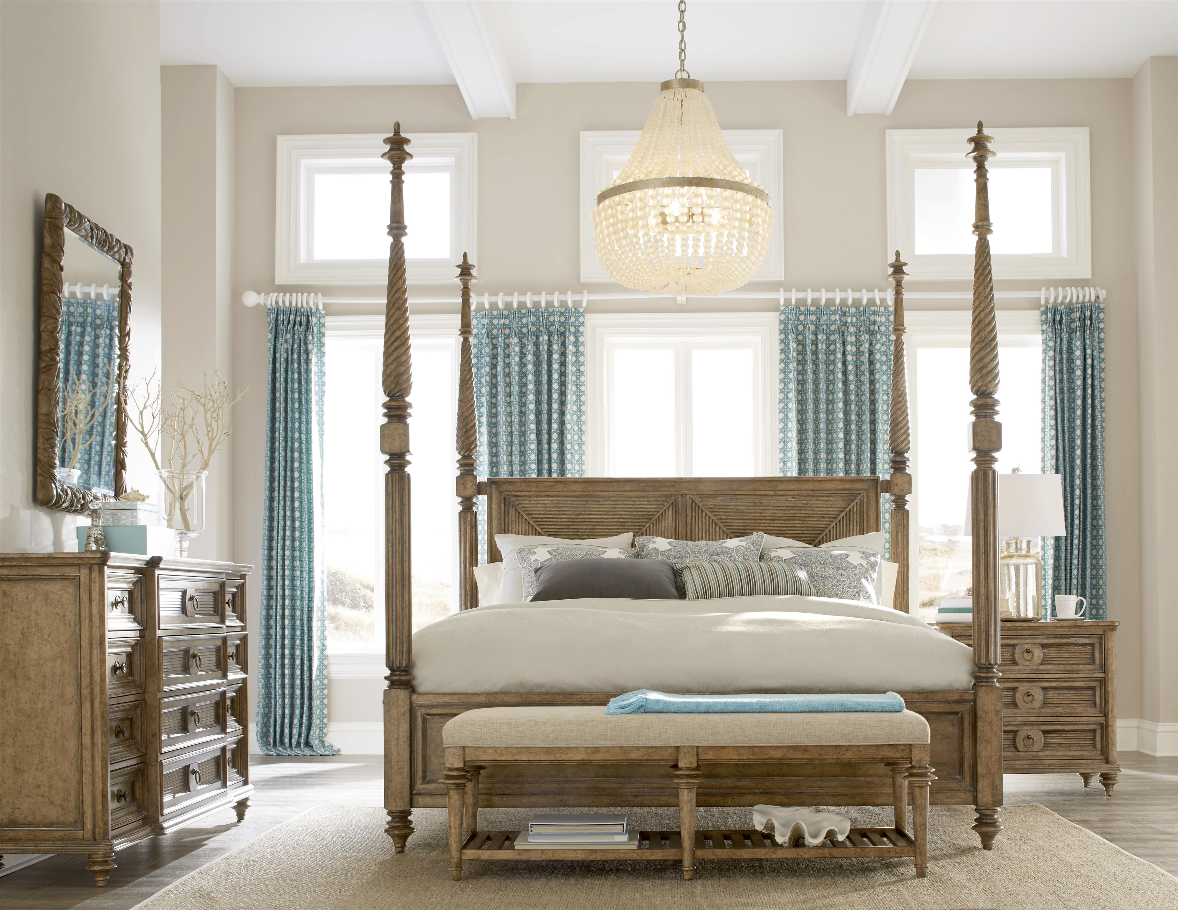 A.R.T. Furniture Inc Pavilion King Bedroom Group - Item Number: 229000-2608 K Bedroom Group 5