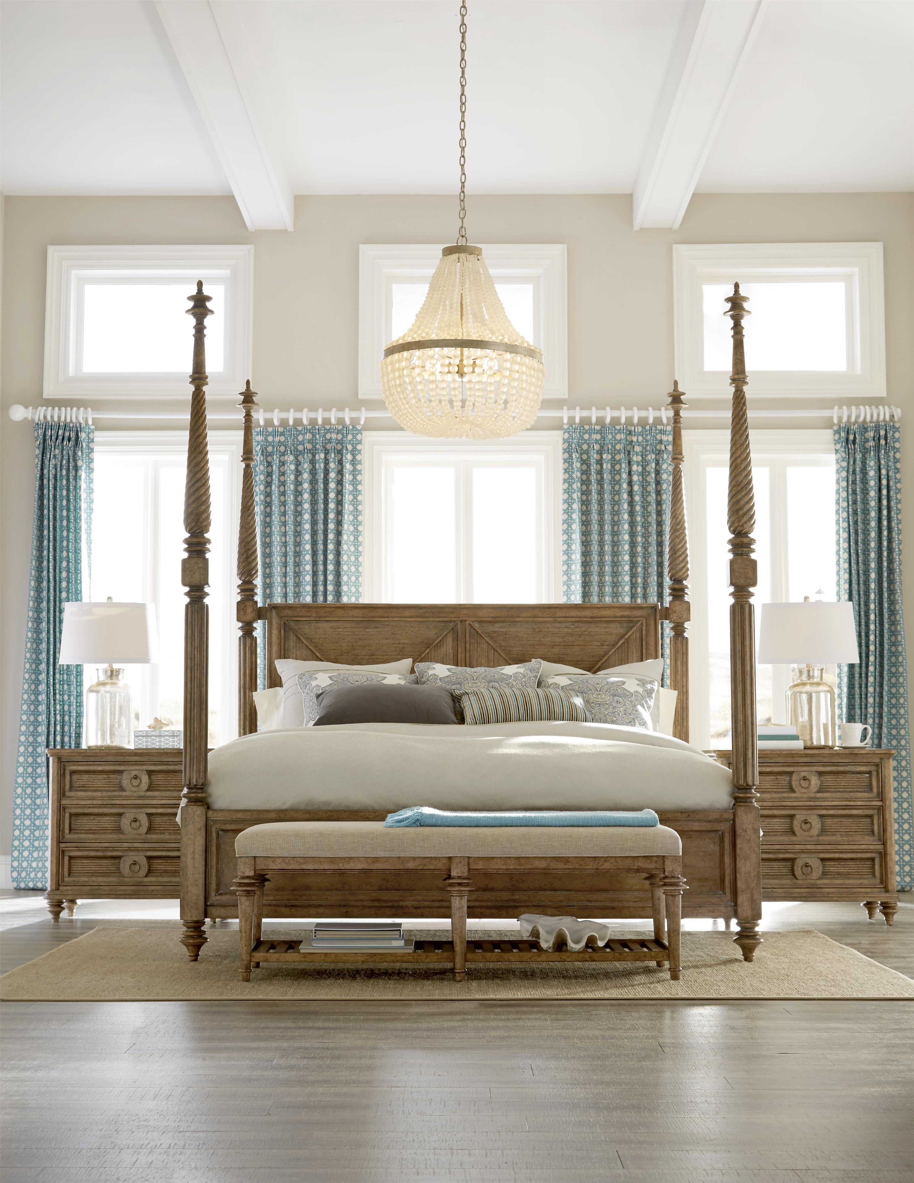 A.R.T. Furniture Inc Pavilion King Bedroom Group - Item Number: 229000-2608 K Bedroom Group 6