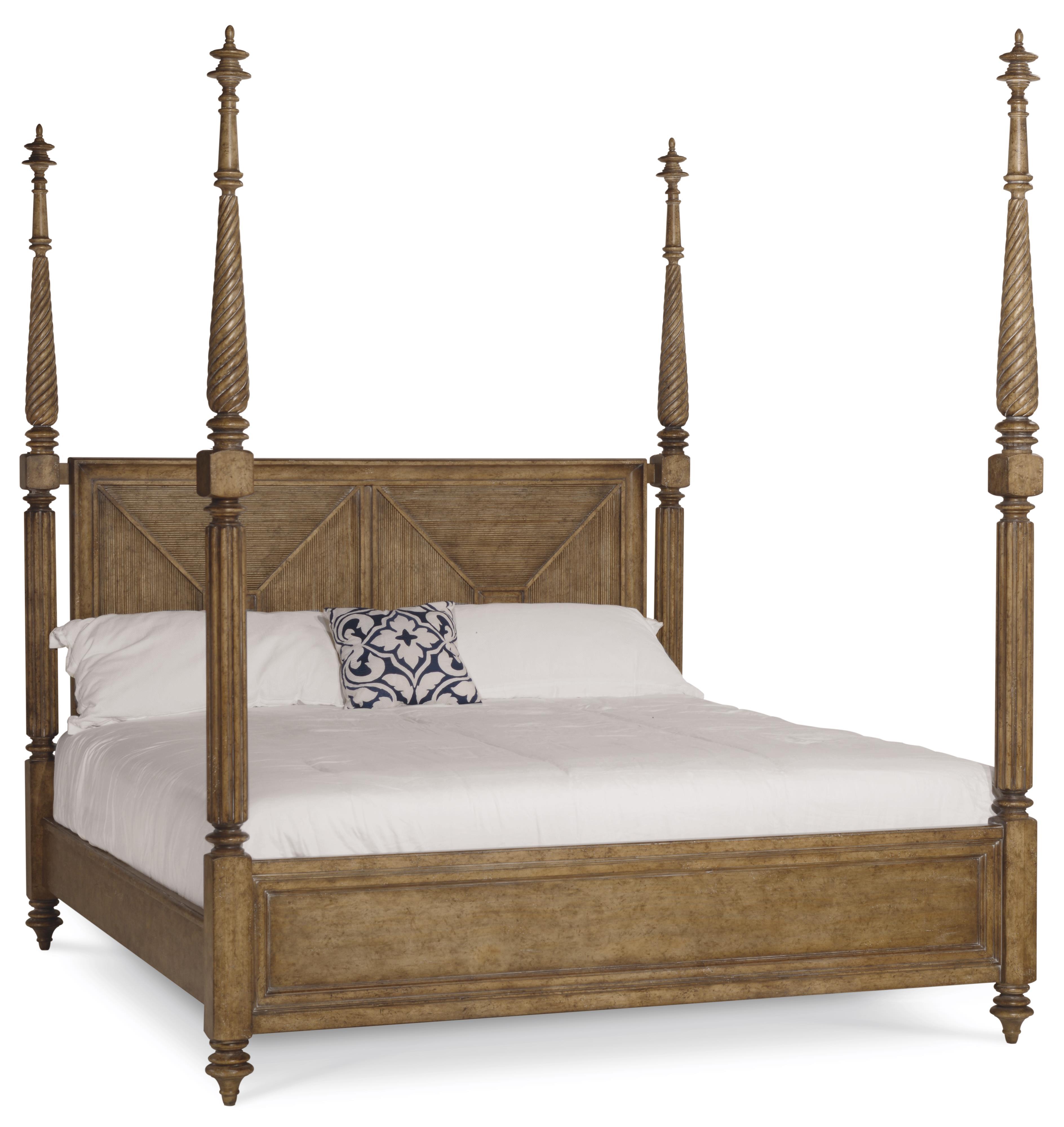 A.R.T. Furniture Inc Pavilion King Poster Bed with Adjustable Posts - Item Number: 229156-2608K2