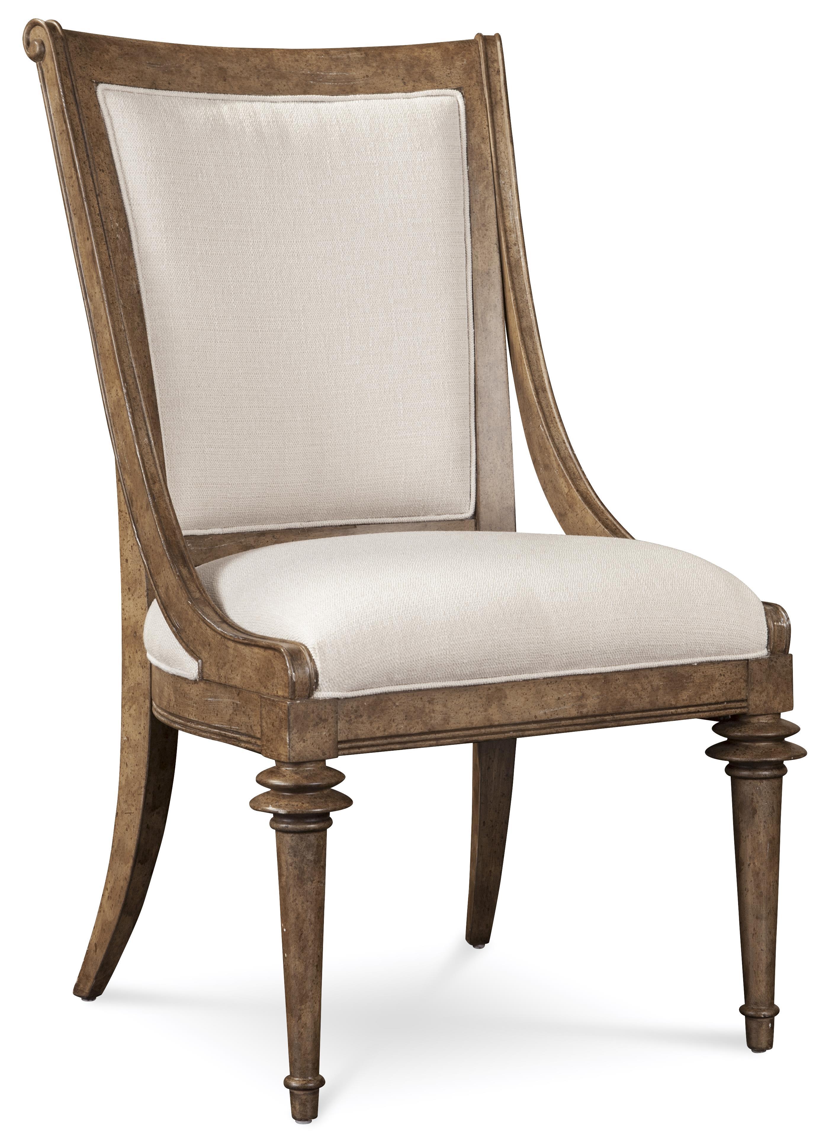 A.R.T. Furniture Inc Pavilion Upholstered Back Sling Chair - Item Number: 229201-2608