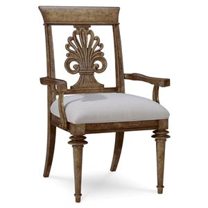 A.R.T. Furniture Inc Pavilion Wood-Back Arm Chair
