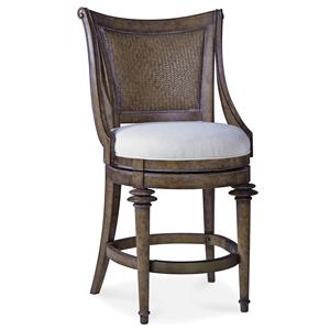 Woven-Back High Dining Chair