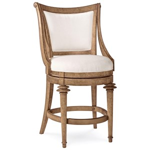 A.R.T. Furniture Inc Pavilion Upholstered Back High Dining Chair