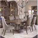 A.R.T. Furniture Inc Pavilion 7-Piece Trestle Table Set - Item Number: 229221-2608+2x229207+4x229200