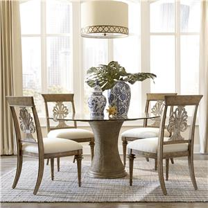 A.R.T. Furniture Inc Pavilion 5-Piece Round Table Set