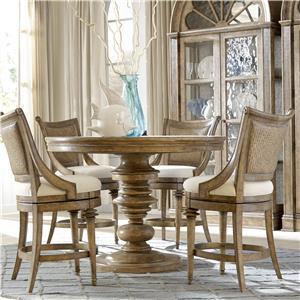 A.R.T. Furniture Inc Pavilion 5-Piece Counter Table Set
