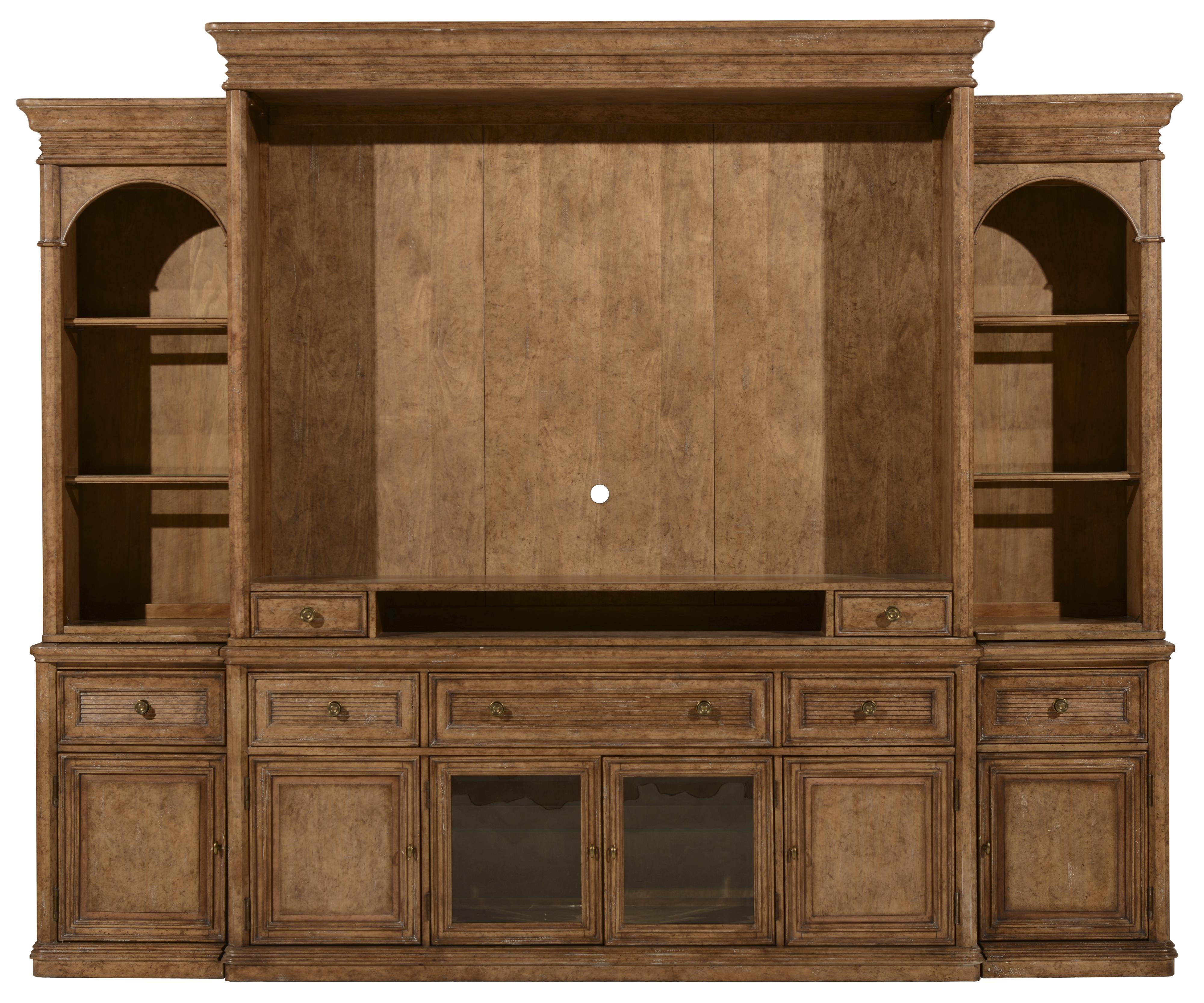 A.R.T. Furniture Inc Pavilion Entertainment Center Complete Wall - Item Number: 229424-2608