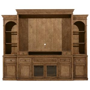 Markor Furniture Pavilion Entertainment Center Complete Wall