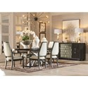 Compositions Prossimo  Formal Dining Room Group - Item Number: 1814 Dining Room Group 1