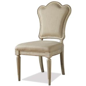 Belfort Signature Sonnet Upholstered Back Arm Chair