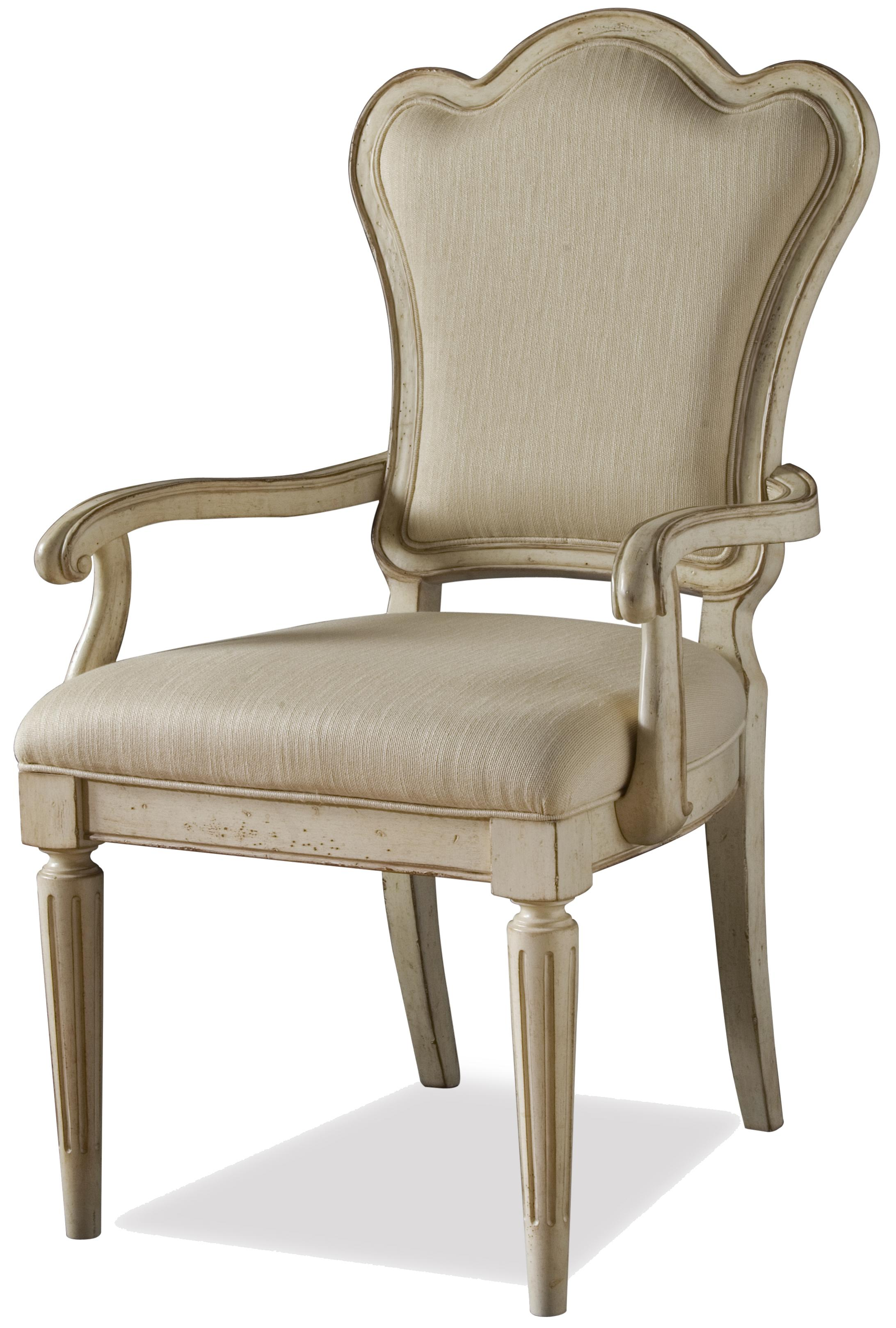 A.R.T. Furniture Inc Provenance Upholstered Back Arm Chair - Item Number: 76207