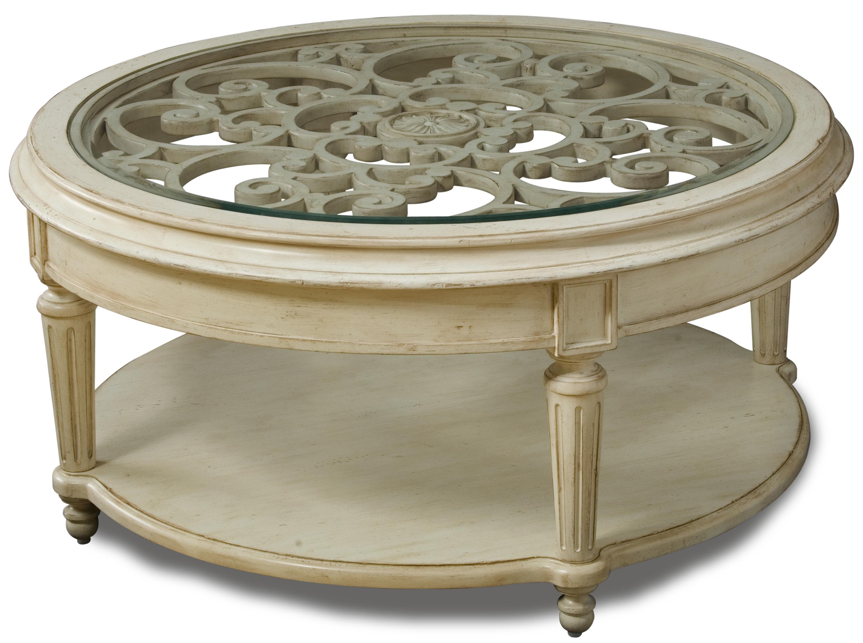 Belfort Signature Sonnet Round Cocktail Table - Item Number: 76302