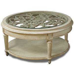 Belfort Signature Sonnet Round Cocktail Table