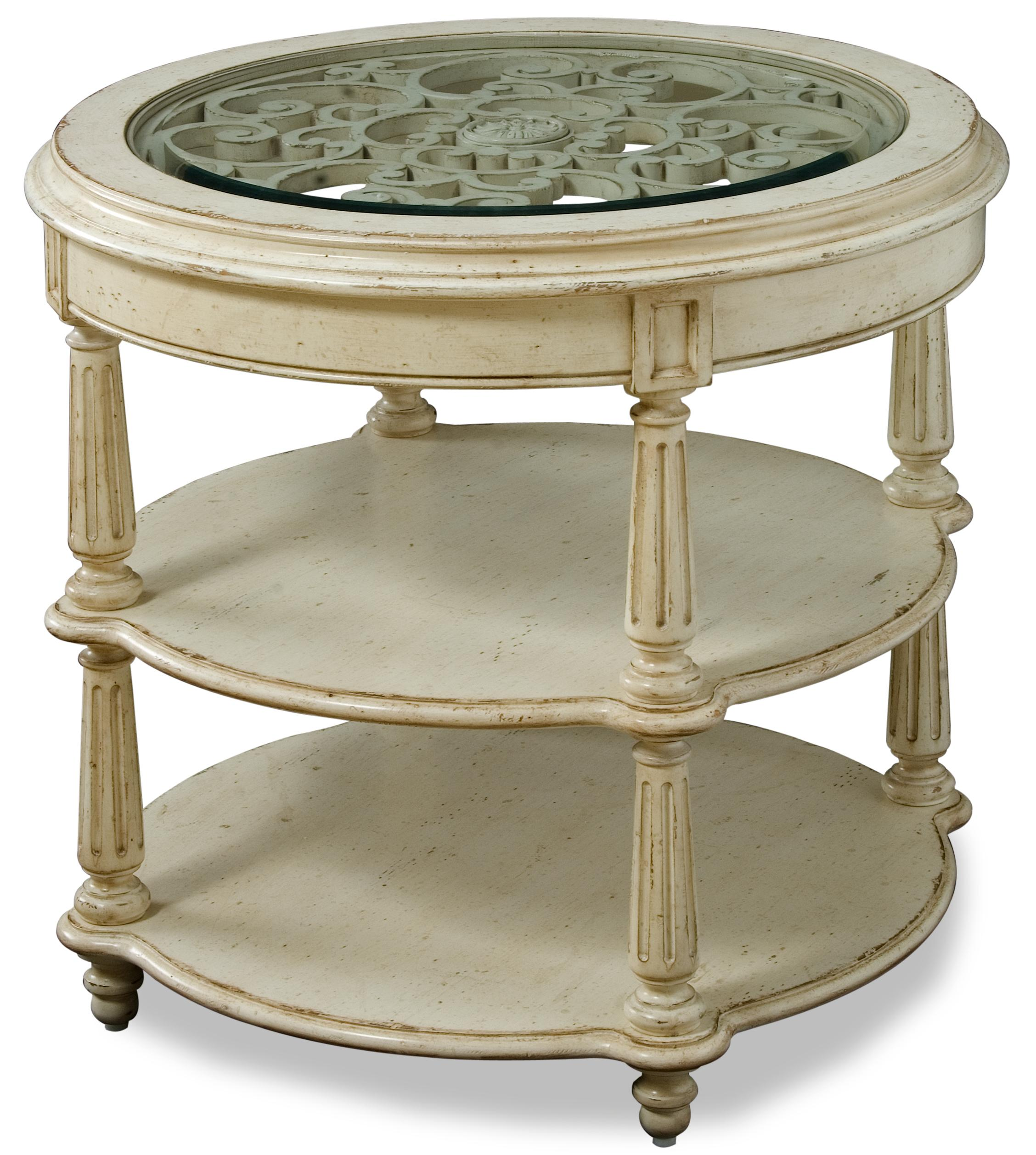 Belfort Signature Sonnet Round Lamp Table - Item Number: 76303