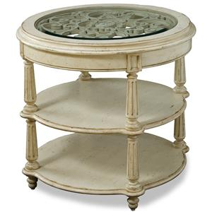 Belfort Signature Sonnet Round Lamp Table