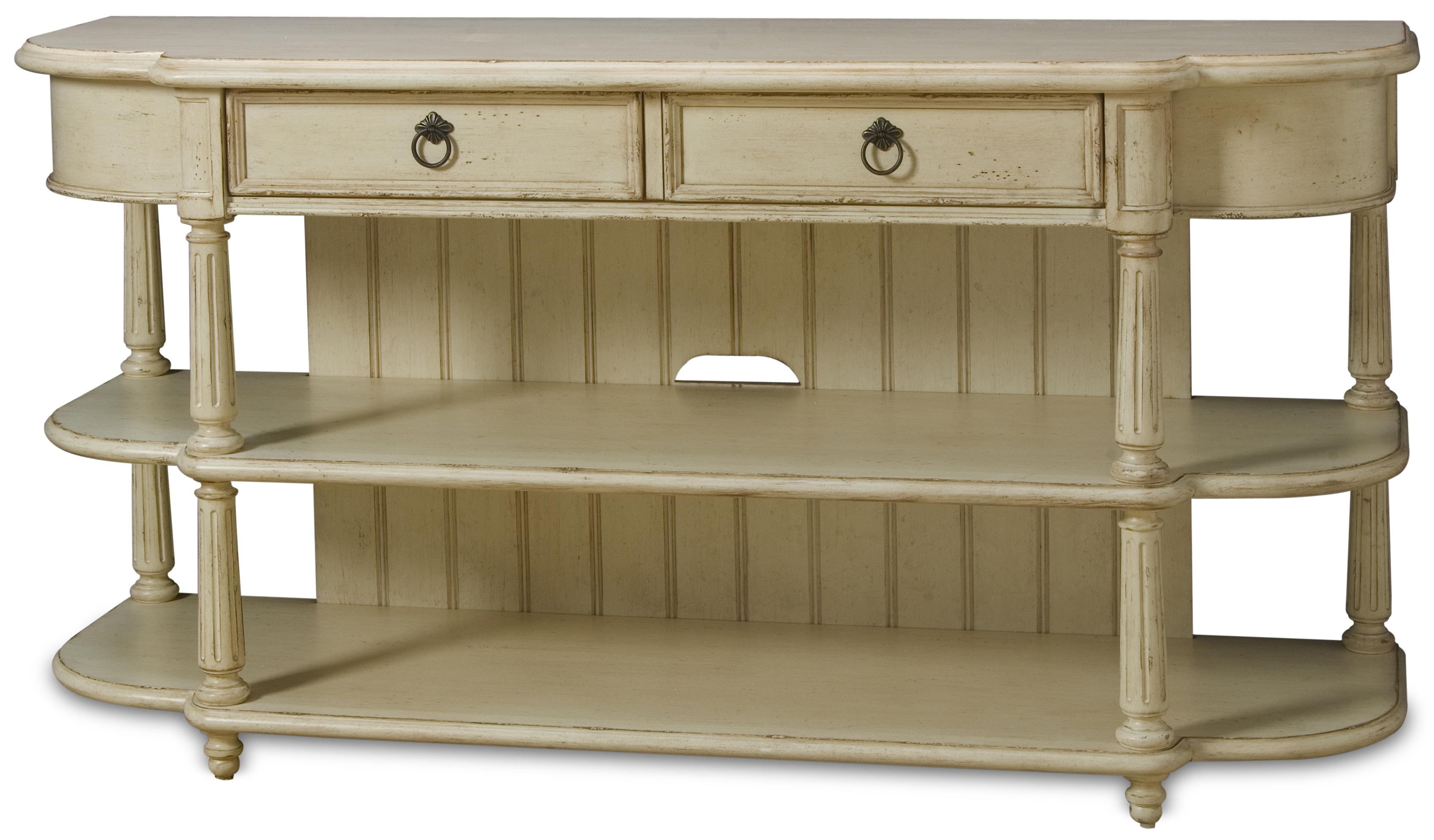 console baskets shelves drawer table b wolf and by furniture products with drew american sofa drawers