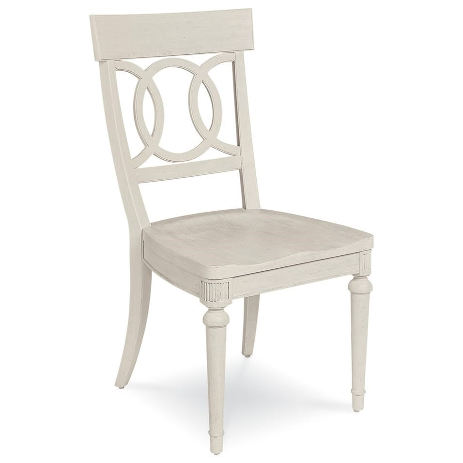 Belfort Signature Elizabeth Sophie Side Chair with Wood Seat - Item Number: 248204-2317