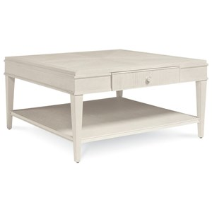 Belfort Signature Elizabeth Liam Square Cocktail Table