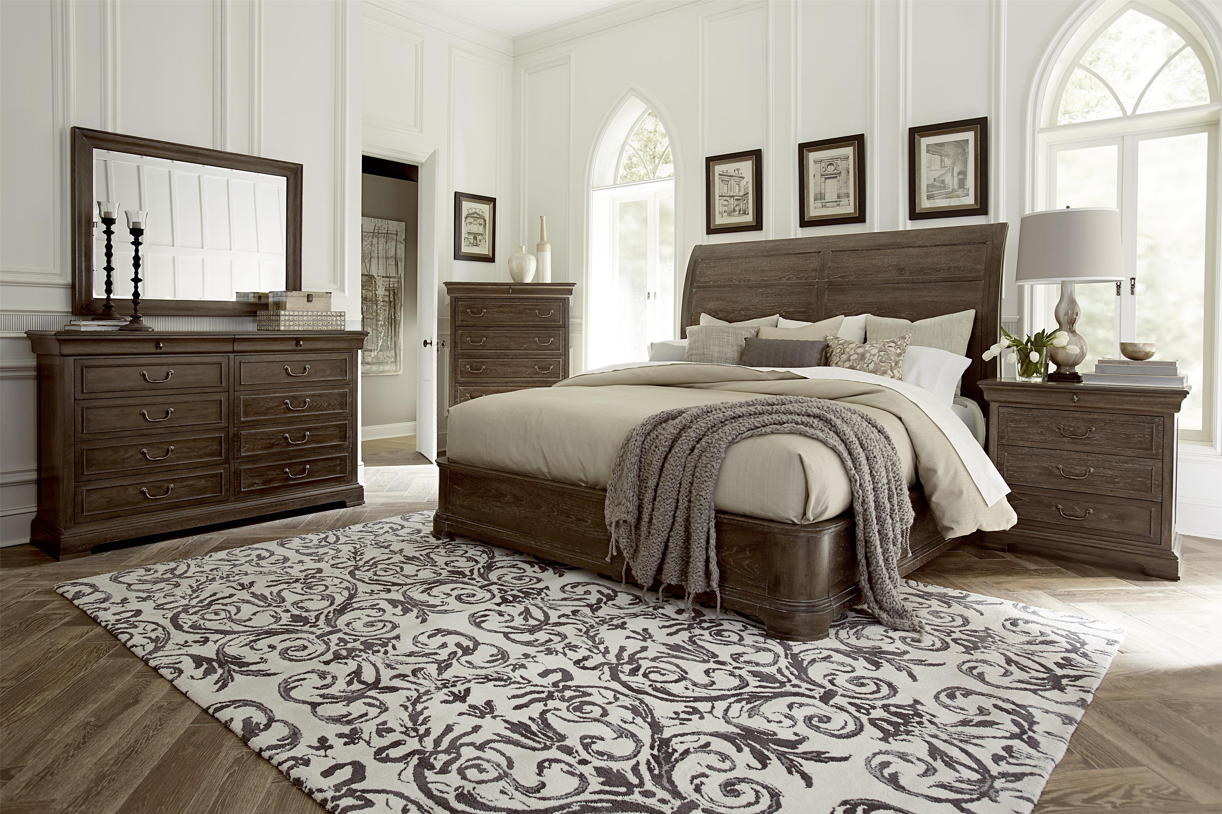 A.R.T. Furniture Inc Saint Germain King Bedroom Group - Item Number: 215000-1513 K Bedroom Group 1