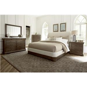 A.R.T. Furniture Inc Saint Germain King Bedroom Group