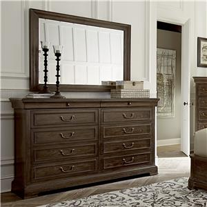 A.R.T. Furniture Inc Saint Germain Dresser & Mirror