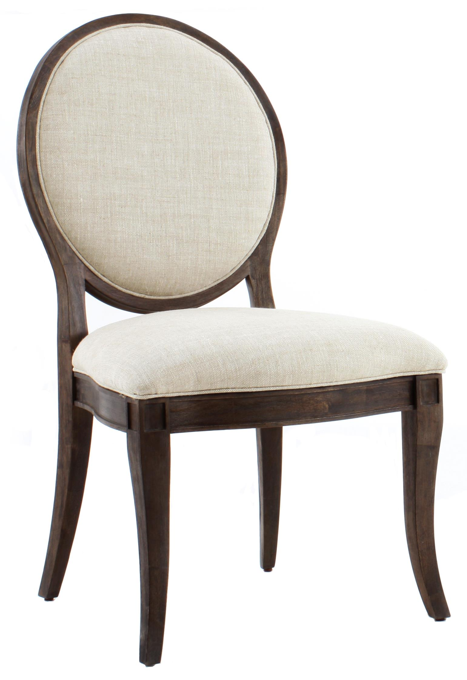 Marvelous A.R.T. Furniture Inc Saint Germain Oval Back Side Chair   Item Number:  215202 1513