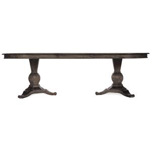 A.R.T. Furniture Inc Saint Germain Double Pedestal Dining Table