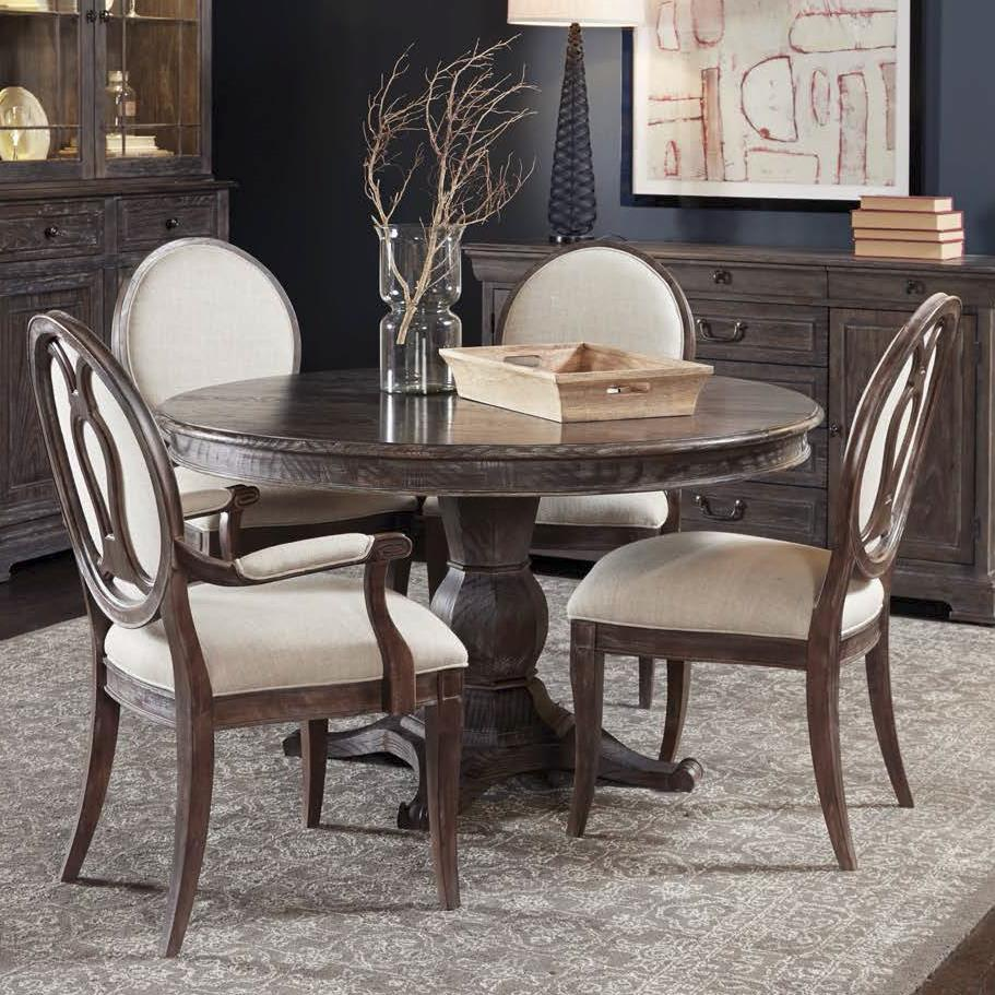 Standard Furniture Cosmo 5 Piece Round Coffee Table Set W: A.R.T. Furniture Inc Saint Germain 5-Piece Round Dining