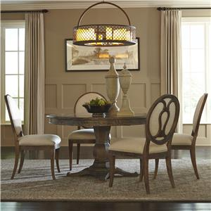 A.R.T. Furniture Inc Saint Germain 5-Piece Round Dining Table Set
