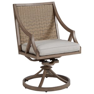 Swivel Rocker Dining Chair