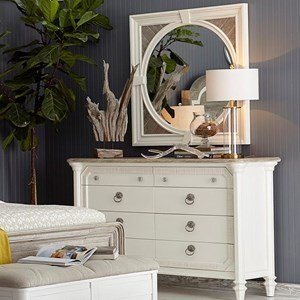 8 Drawer Dresser and Mirror Set