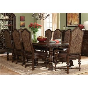 Belfort Signature Cortona Trestle Table Set
