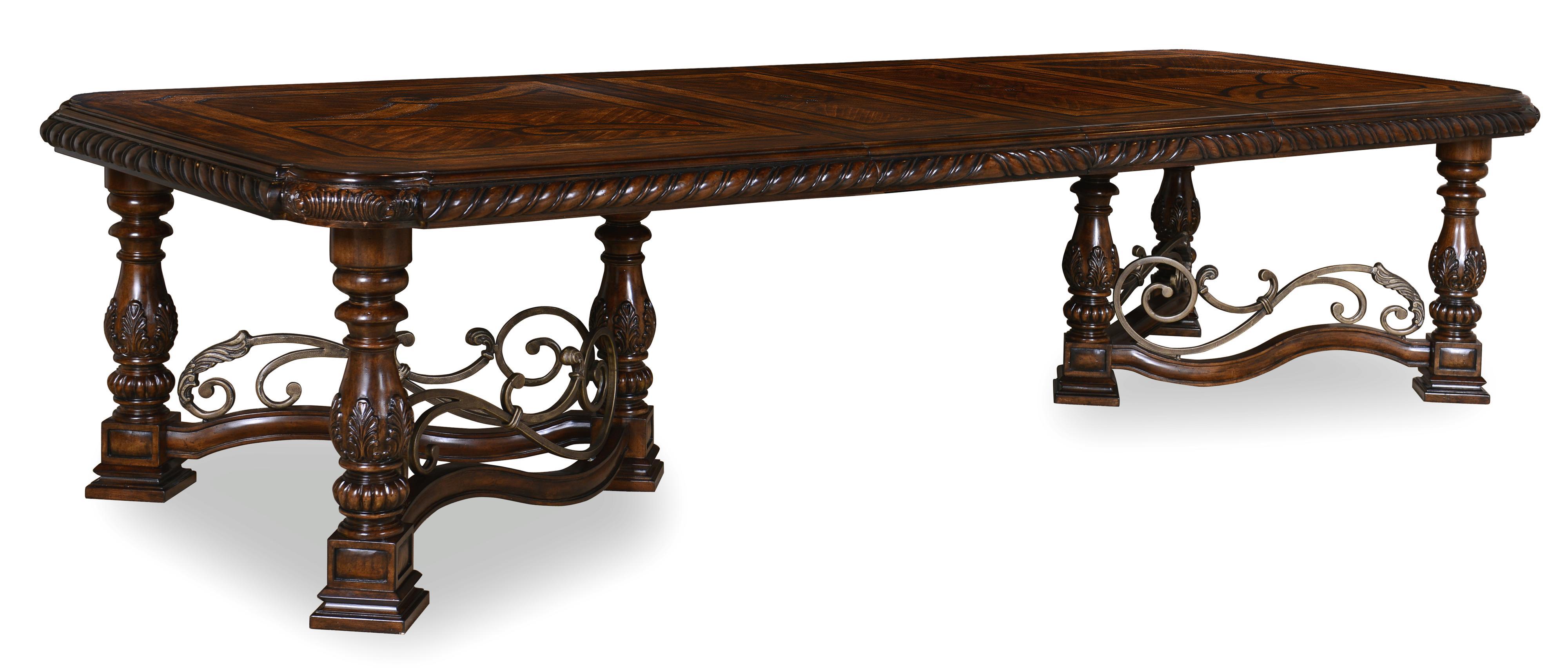 Belfort Signature Cortona Trestle Dining Table - Item Number: 209221-2304