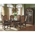 A.R.T. Furniture Inc Valencia Round Dining Table with Leaves - 209225-2304 - Chairs Shown No Longer Available