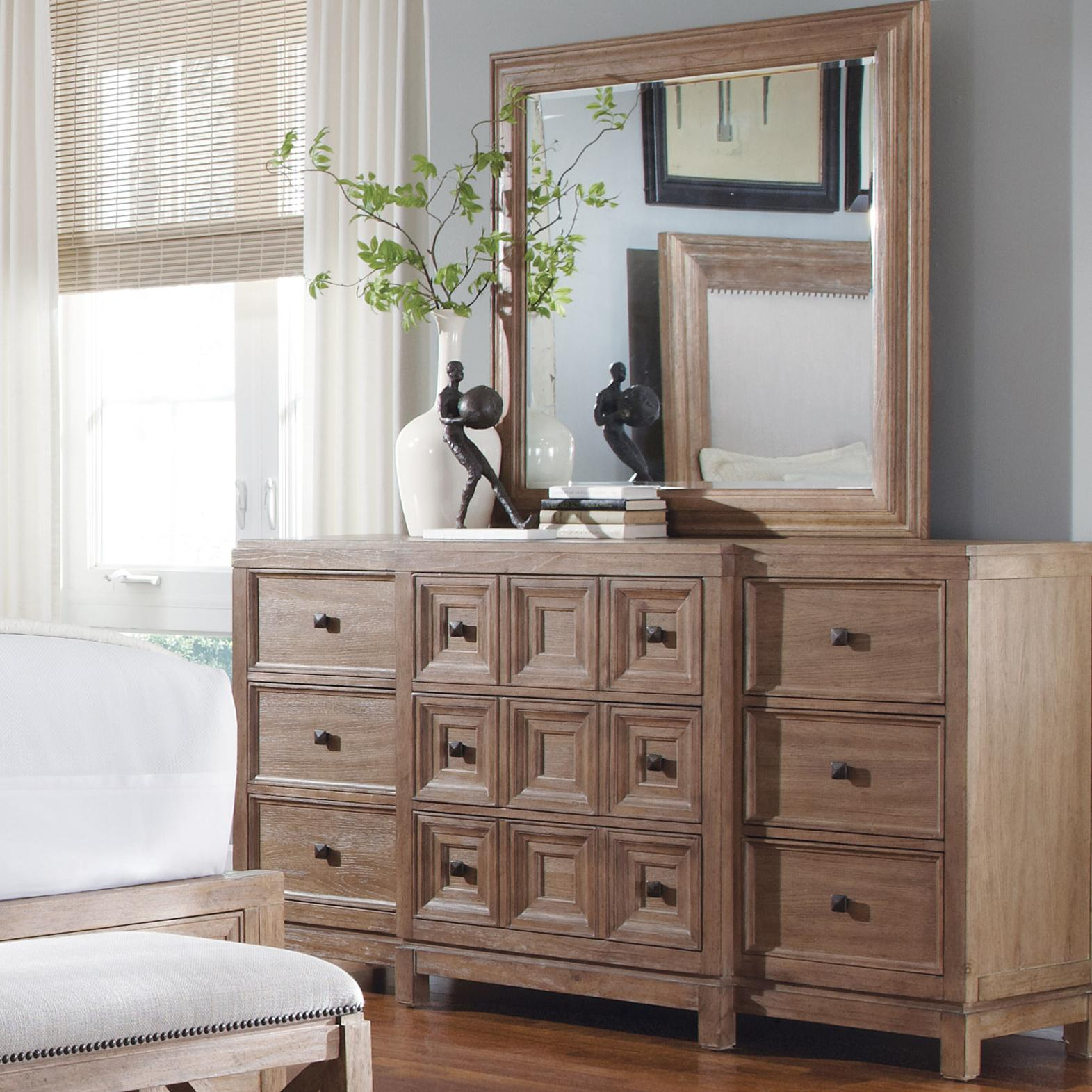 Belfort Signature Madera Dresser & Mirror Set - Item Number: 192130-2303+192120